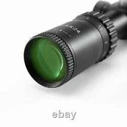 1- 4x24 First Focal Plane FFP Rifle Scope MOA Reticle Anti-Reflection Devices