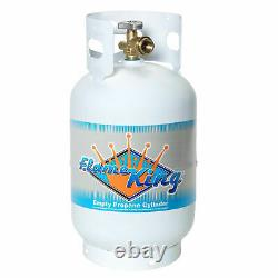11Lb Propane Cylinder Tank Type 1 Overfill Protection Device Valve Powder Coated