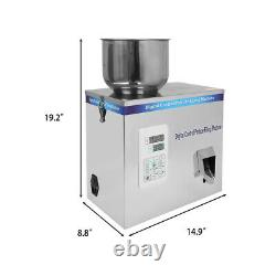 2-100G Powder Particle Subpackage Device Spice Weighing And Filling Machine