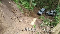 2Pcs Recovery Boards MUD SAND SNOW Traction Ramp Stronger Anti-Skid Element