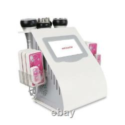 40k cavitation slimming machine 6in1 body lipo massager countering laser device