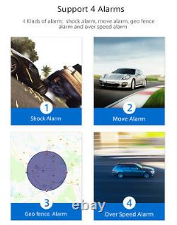 4G OBDII GPS Mini Tracker Live Realtime Vehicle Car Spy OBD2 Tracking Device