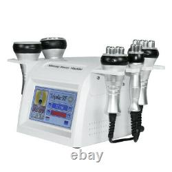 5IN1 Ultrasonic Cavitation Radio Frequency Vacuum Body Slimming Device Machine