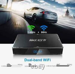 ANDROID TV BOX 4K MAGIC Streaming device Fully loaded