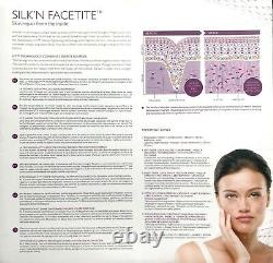 AUTHENTIC Silkn FaceTite Wrinkle Reduction & Skin Tightening Anti Aging Device