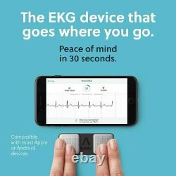 AliveCor Kardia Mobile EKG/ECG Monitor Device for Android & Apple KardiaMobile