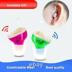 American Company Hearing Amplifier CIC, Invisible, Mini size, Guaranteed