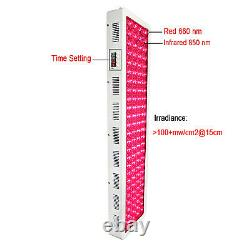 Anti Aging X1000W LED Red Infrared Light Therapy Device 660nm 850nm Time Setting