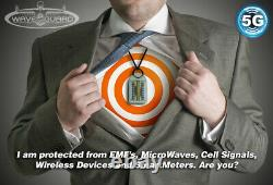 Anti EMF Radiation Protection 5G Wave-Guard Personal Passive Device