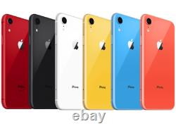 Apple IPhone XR 64GB GSM & CDMA UNLOCKED A1984 4G LTE 12MP DEVICE OB EXCELLENT