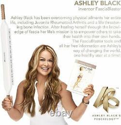 Ashley Black Fascia Blaster PaddleBlaster Cellulite Reducer Massaging Device NEW