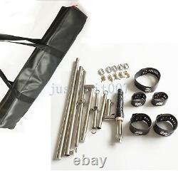 BDSM Spreader Bar Rack Torture Collar Restraint Cuffs Lockable Bondage Device