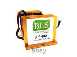 BLS-48A 48 volt desulfator for solar/wind battery banks/Polaris