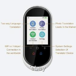 Birgus Smart Voice Translator 106 Languages Device High Definition Offline Wifi