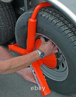 Brahma Trailer Wheel Lock The ULTIMATE Anti-Theft Device (Boot, Clamp)