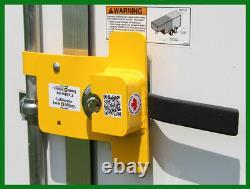 California Immobilizer Enclosed Trailer Bar Door Lock Anti-Theft Device
