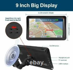 Car GPS Navigation, 9-inch HD Touch Screen Navigation Device Truck 8GB