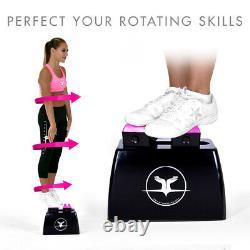 Cheerleading Stunt Stand(R) Balance & Flexibility Training Device Black/Pink