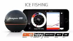 Deeper Pro Plus + Fishfinder, Wireless Sonar, Compatible iOS & Android Devices