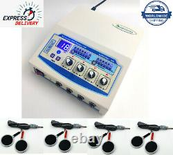 Electric Electrotherapy Machine 4 Channel Physical PhysioTherapy Massager Device