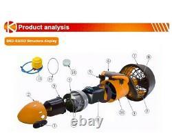 Electric Underwater Diving Sea Scooter Propulsion Vehicle Jet Device Propeller