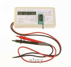 Electrolytic Capacitor Capacity and ESR Measuring Device ESR-micro v5.0S NWoT