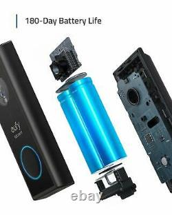 Eufy Security Wireless Video Doorbell Battery-Powered with 2K HD On-Device AI