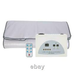 Far Infrared Sauna Heating Blanket Body Shape Slimming Fitness Care Device USA