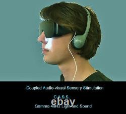Gamma 40Hz Light and Sound Stimulation Device