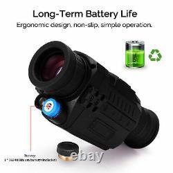 IR Infrared Night Vision Device Scope HD Digital Camera Monocular Outdoor P4K3