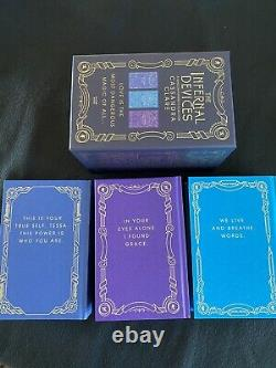 Illumicrate The Infernal Devices Set Trilogy Cassandra Clare New Stenciled Edges