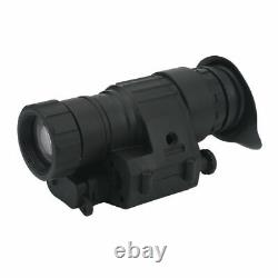 Infrared HD Monocular Helmet Telescope Night Vision Hunting Device with Mount