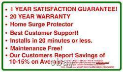 KVAR Energy Saver 1200 Power Saver Electricity Saving Device Save with Free Gift