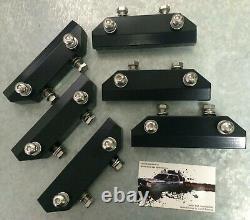Land Range Rover 2 / P38 Safety Devices Roof Rack Mounts Hardware Kit