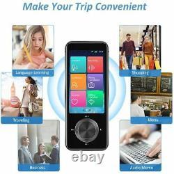 Language Translator Device, Portable Voice Translator 107 Languages Two Way L