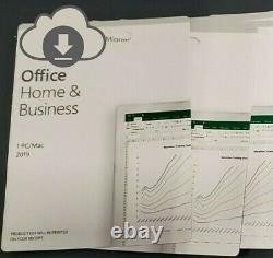 MS Office Home And Business 2019, 1 Device, PC/MAC 1 User Key Card