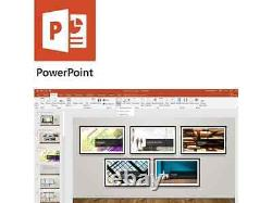 Microsoft Office Home and Student 2019 1 device, Windows 10 PC/Mac Key Card