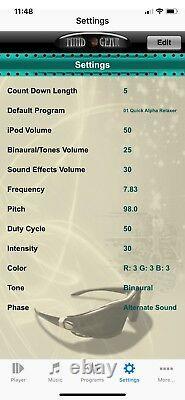 Mind Gear mindLightz Wireless Mind Machine System for iOS Mobile Devices REFURB
