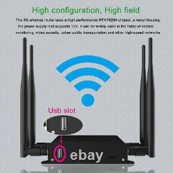 Mobile 4G LTE HOTSPOT Cat 6 Device for AT&T High-Speed Internet Data with2x CA