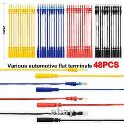 Multimeter Test Lead Kit 92PCS Electronic Tool With Alligator Clip Probe Device
