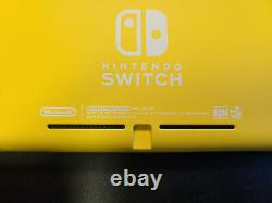 New Nintendo Switch Lite Yellow Console 32GB HDH-001 Device Only