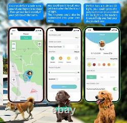 No Monthly Fee Pet GPS Tracker Real-Time Tracking Device Health Activity Monitor