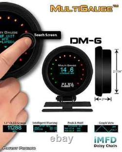 PLX Devices DM-6 TOUCH Gauge- FREE 2-DAY PRIORITY SHIPPING