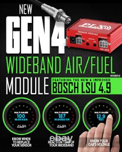 PLX Devices Wideband Air Fuel Ratio (AFR) Sensor Module with Bosch LSU4.9
