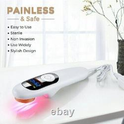 Pain Relief Cold Laser Therapy Device LLLT Red Light Treatment 650nm+808nm