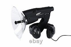 Parabolic Microphone Spy Listening Device Bionic Ear Sound Amplifier Gadget300ft