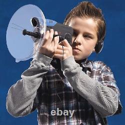 Parabolic Sonic Listening Device Microphone Amplifier Spy Bionic Ear Sound 300FT