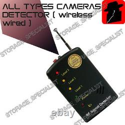 Phone Detector Camera GSM Bugs GPS Finder Listening Device