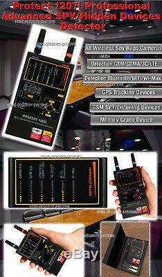 Phone Detector Protect 1207i Bugs Listening Device Covert GPS tracker Finder