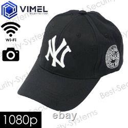 Portable Wireless WIFI Head Cap Camera Evidence Proof Device